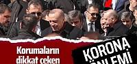 Cumhurbaşkanı Erdoğan'ın cuma namazı...