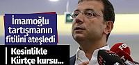 Ekrem İmamoğlu'ndan çarpıcı 'Kürtçe'...