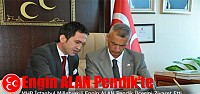 Engin ALAN MHP Pendik İlçe Başkanlığını Ziyaret Etti