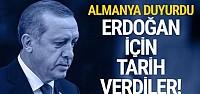 Erdoğan'ın Almanya'ya gideceği tarih...