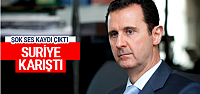 Esad'ın ses kaydı ortaya çıktı! Suriye karıştı