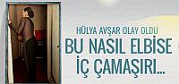 Hülya Avşar transparanın sınırlarını zorlayınca...