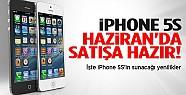 iPhone 5S haziran'da satışta hazır'