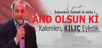 İstanbul İstedi O aday Oldu !