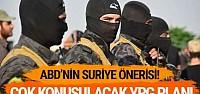 İşte ABD'nin Suriye önerileri! Dikkat çeken YPG önerisi