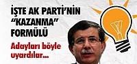 İŞTE AK PARTİ'NİN SEÇİMİ KAZANMA FORMÜLÜ