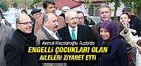Kılıçdaroğlu, Tuzla'daki Engelli Umut'u Ziyaret Etti