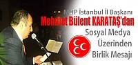 Mehmet Bülent Karataş'dan Mesaj