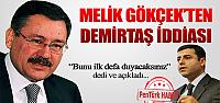 Melih Gökçek'ten Selahattin Demirtaş iddiası!