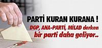 MERKEZ SAĞ DA YENİ PARTİ KURUYOR !