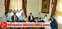 MHP Pendik İlçe Başkanlığın'dan Pendik Belediyesine Ziyaret