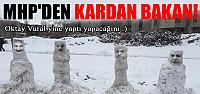 MHP'den 4 eski bakanla ilgili ilginç protesto!