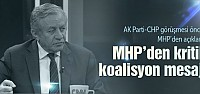 MHP'den AK Parti'ye sandık mesajı!