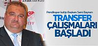 Pendikspor'da Transfer Çalışmaları