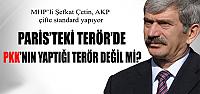 Şefkat Çetin,AKP Terör konusunda Türkiye'de başka Fransa'da başka