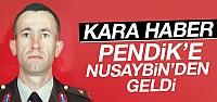 Şehit Binbaşı Ahmet Karaman'ın Acı Haberi Pendik'teki Baba Ocağına Düştü