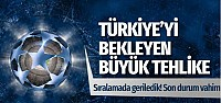 UEFA ülke sıralamasında Türkiye'yi bekleyen büyük tehlike!