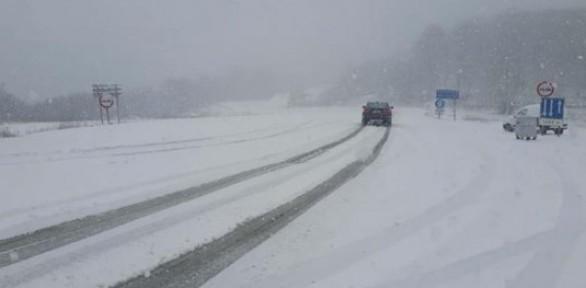Trakya'da kar yağışı başladı ! Meteoroloji'den yeni uyarı