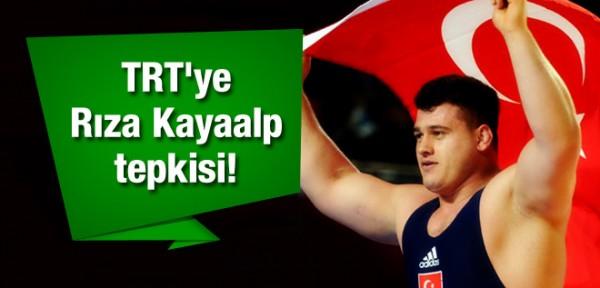 TRT'ye Rıza Kayaalp tepkisi!