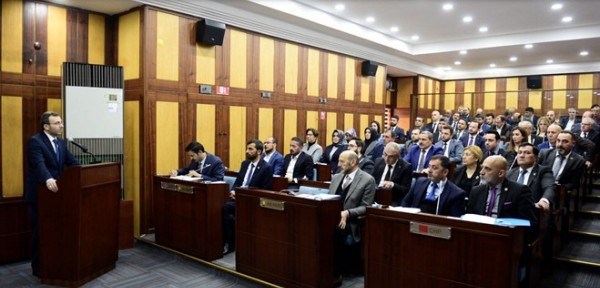 Yeni Meclis'ten 2018 Yılı Faaliyet Raporu'na Onay