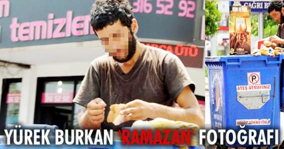 Yürek burkan 'Ramazan' fotoğrafı